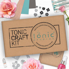 Tonic Craft Kit Issue 16 - Floral Layered Hearts