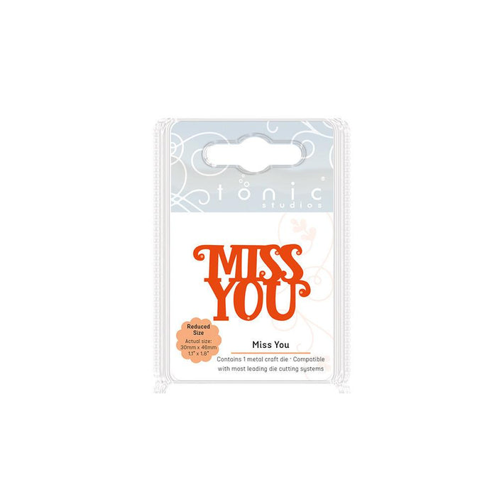 Tonic - Die - Mini Moments - Miss You - 1715e