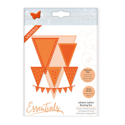 Essentials - Beautiful Bunting Jubilant Jubillee - 1798E-Tonic Studios