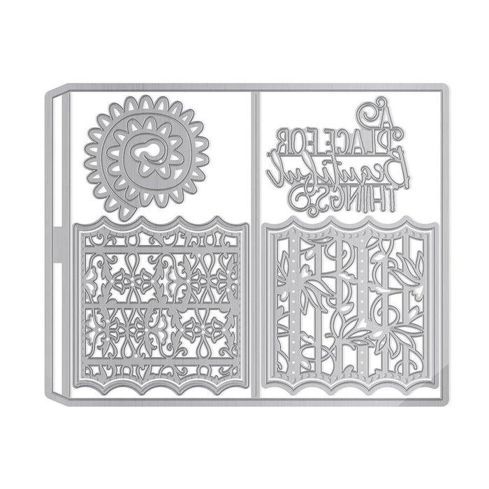 Tonic Studios - Beautiful Things - Kaleidoscope Box Insert Die Set - 1906e - tonicstudios