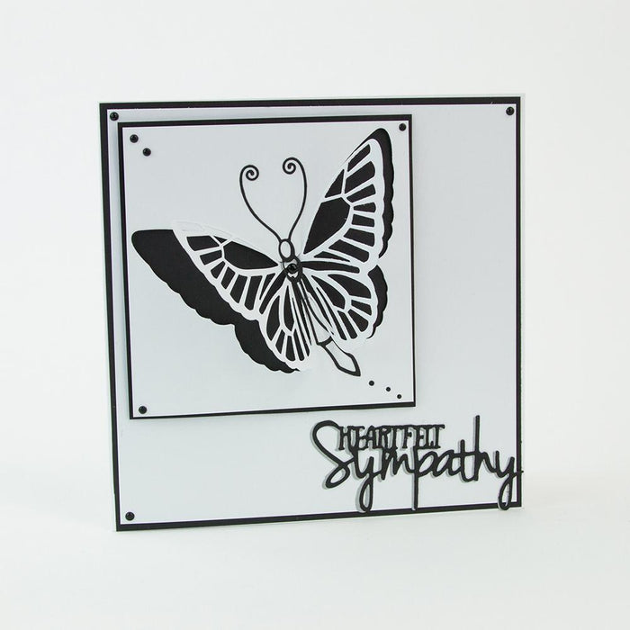 Tonic Studios - Wings & Things - Butterfly & Dragonfly Die Set - 1928e