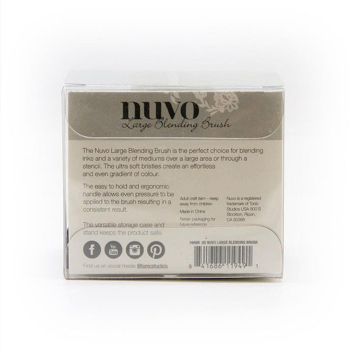 Nuvo - Large Blending Brush - 1949N