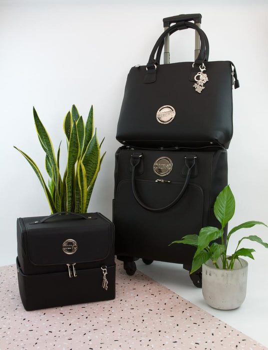 Nuvo - Luxury Storage - Handbag & Roller Set - Belvedere Black - 1998n