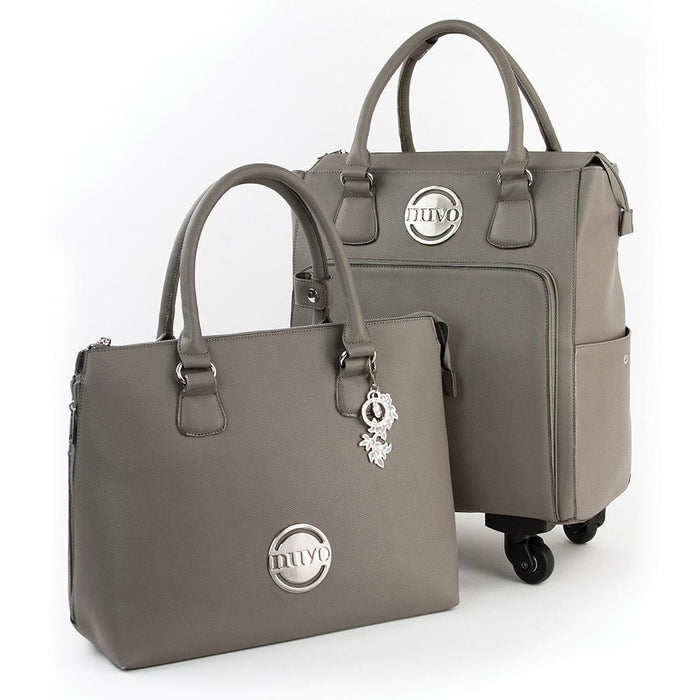 Nuvo - Luxury Storage - Handbag & Roller Set - Windsor Grey - 1999n