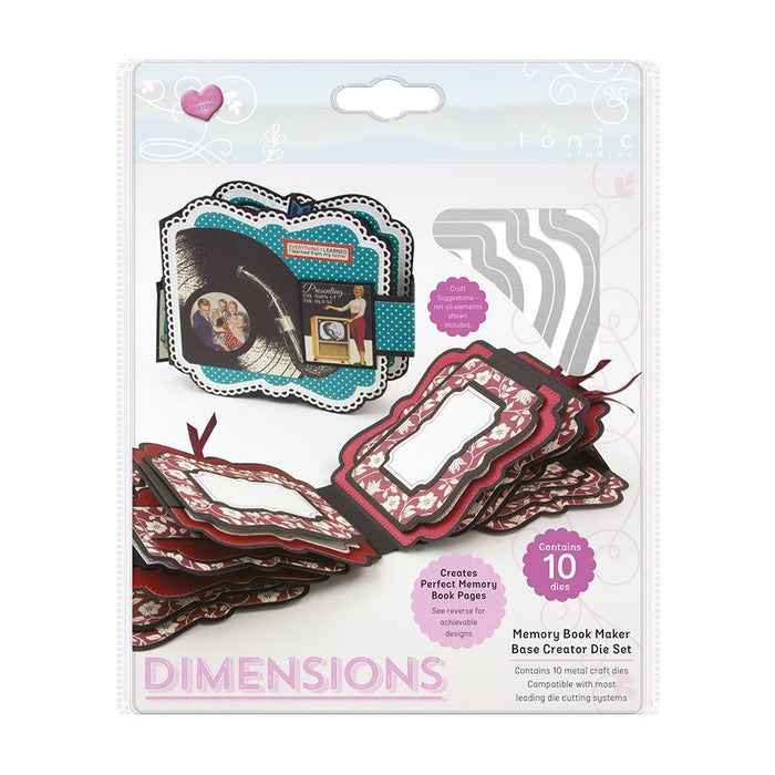 Dimensions - Memory Book Maker - Base Creator Die Set- 2118E-Tonic Studios