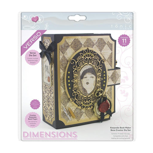 Tonic Studios - Dimensions - Keepsake Book Maker Base Creator - 2278E