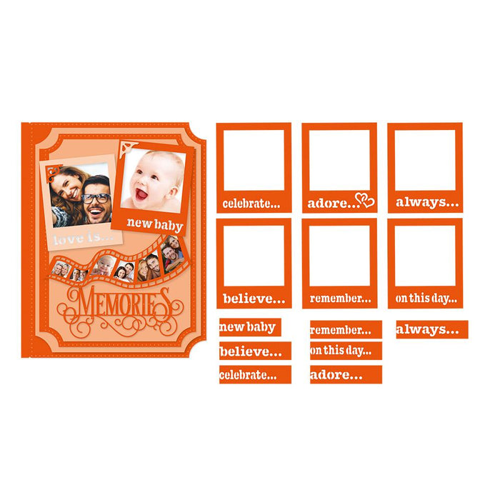 Tonic Studios - My Memory Book - Photos & Filmstrip - 2280eUS