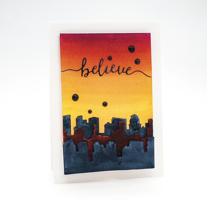 Tonic Studios - Sentiment Strips - Believe Die Set - 2355e