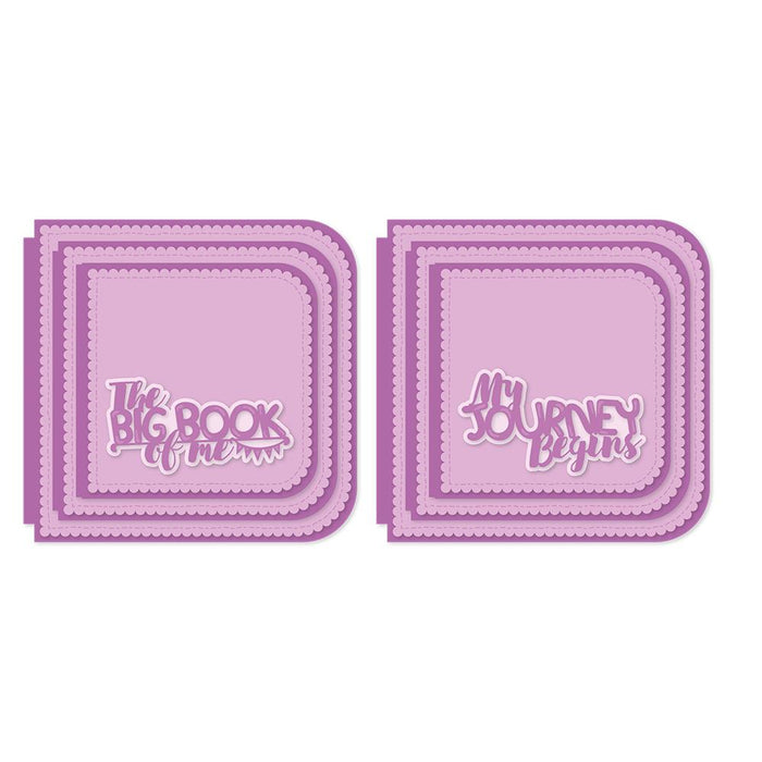 Tonic Studios - My Memory Book - Life's Journey Keepsake Base Creator Die Set - 2505eUS
