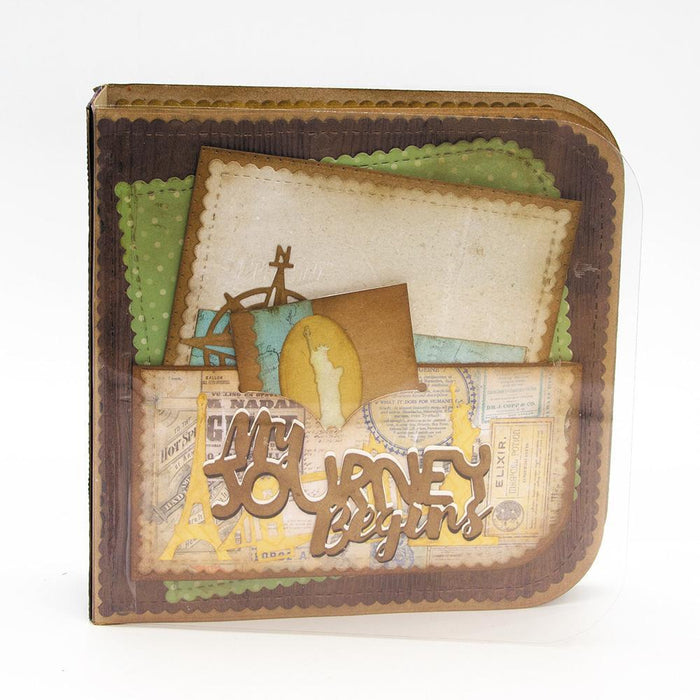 Dimensions - Tonic Studios - Dimensions - Life's Journey Keepsake Base Creator Die Set - 2505E