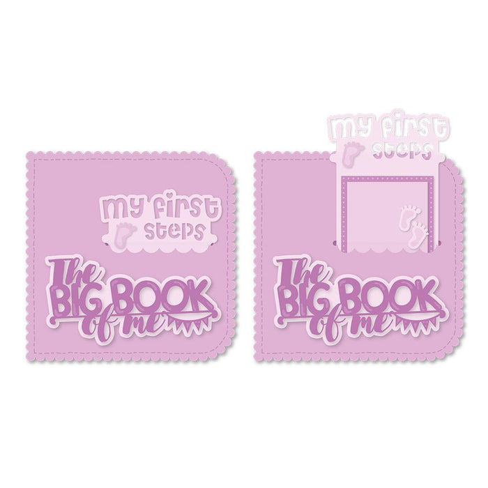 Tonic Studios - My Memory Book - My First Memory Book Pocket Slider Die Set - 2507eUS