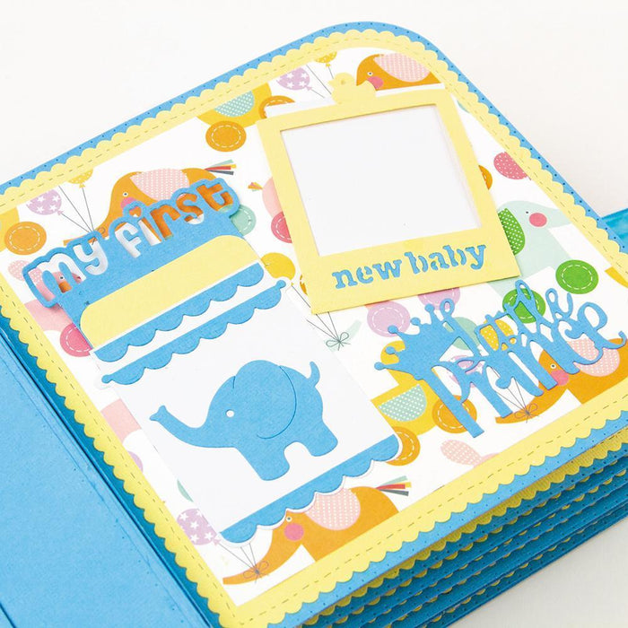 Dimensions - Tonic Studios - Dimensions - My First Memory Book Pocket Slider Die Set - 2507E