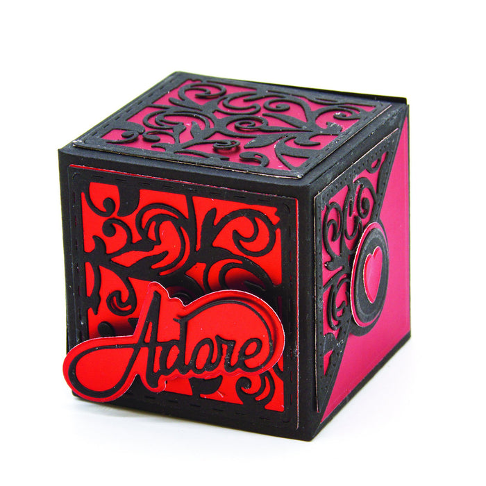 Tonic - Die - Dimensions - Elements Gift Box - 2553e