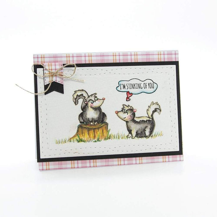 Tonic Studios - Adorables - Scent Wiff Love Stamp Set - 2580e