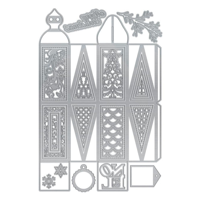 Dimensions - Tonic Studios - Dimensions - Winter Wonderland Large Gift Box - 2610E