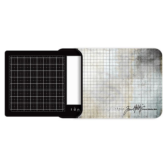 Tim Holtz - Travel Glass Media Mat - Right Handed - 2633eUS