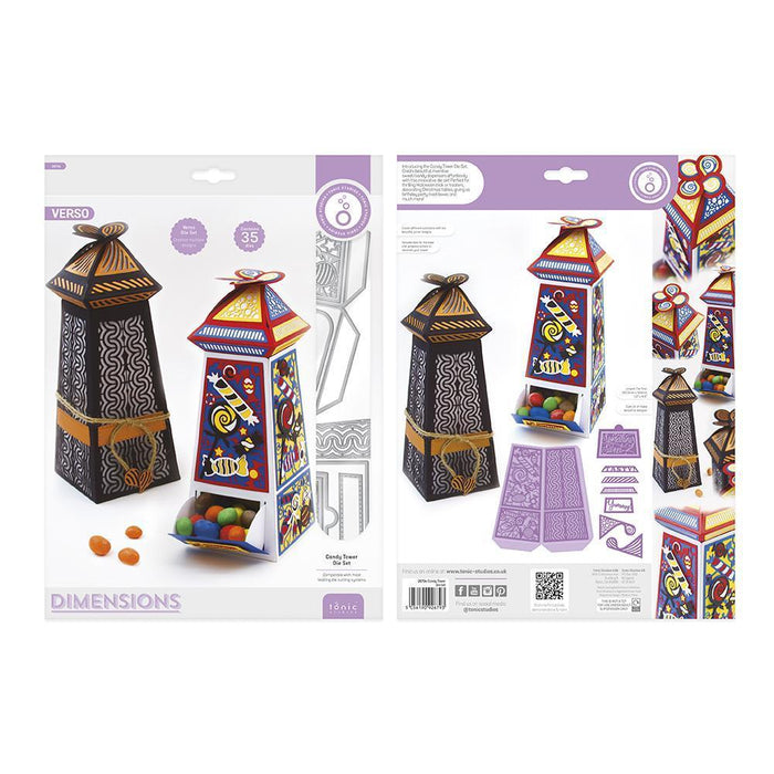 Dimensions - Tonic Studios - Dimensions - Candy Tower Die Set - 2679E