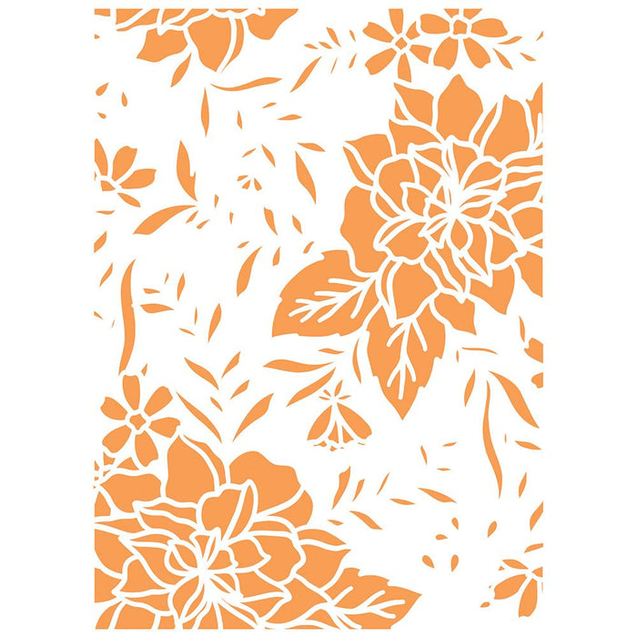 Tonic - Stencil - Botanical Background - 2703e