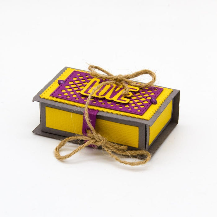 Dimensions - Tonic Studios - Dimensions - Tiny Treasured Tome Box Die Set - 2734E