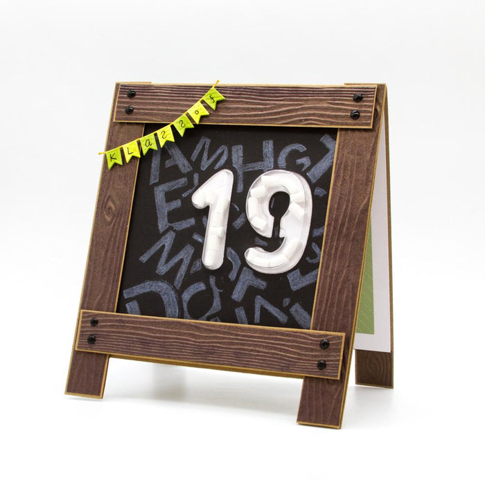 Essentials - Tonic Studios - Essentials - Number 6/9 Die & Shaker Set - 2826E