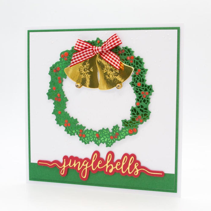 Essentials - Tonic Studios - Essentials - Jingle Bells Sentiment Strip Die - 2850E