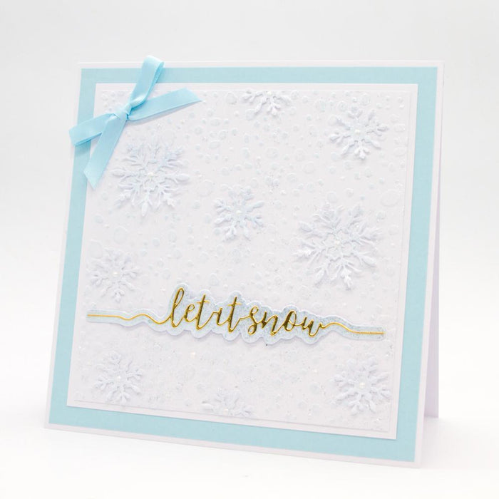 Essentials - Tonic Studios - Essentials - Let It Snow Sentiment Strip Die - 2851E