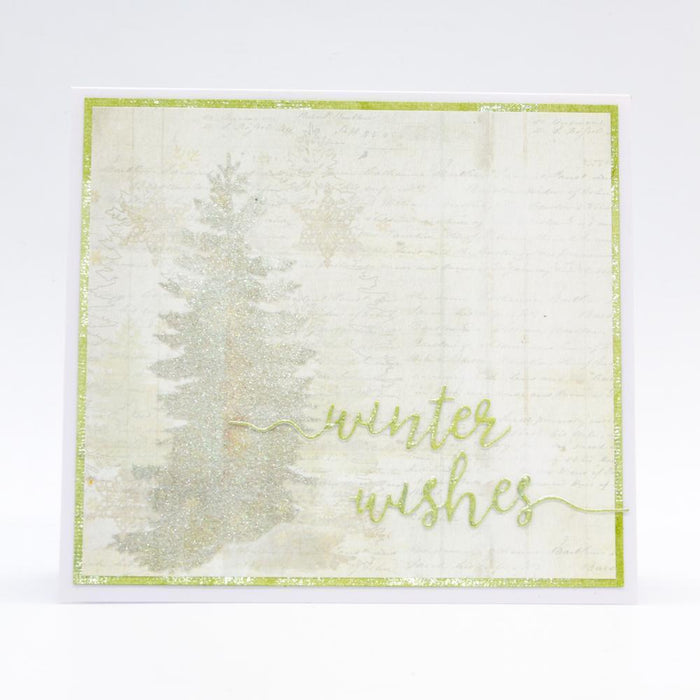 Essentials - Tonic Studios - Essentials - Winter Wishes Sentiment Strip Die - 2853E