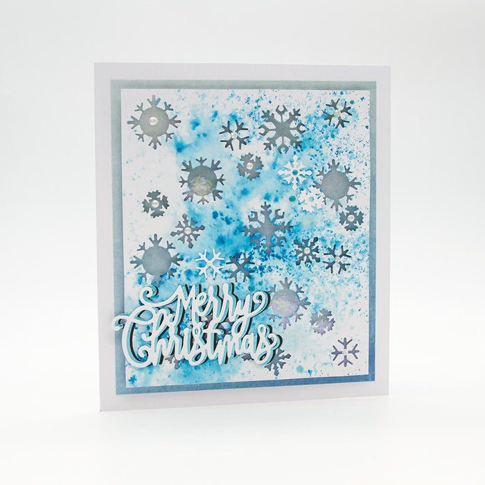 Nuvo - Pure Sheen 4 Pack - Let It Snow Confetti - 288N - tonicstudios