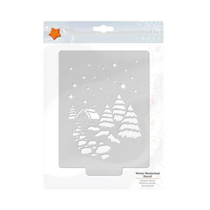 Tonic Studios - Winter Wonderland Stencil - 2916e