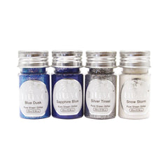 Nuvo - Pure Sheen 4 Pack - Let It Snow Glitter - 297N - tonicstudios