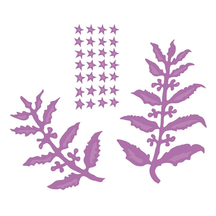 Tonic Studios - Susan's Garden Club - Beauty Berry Bush Die Set - 3025E