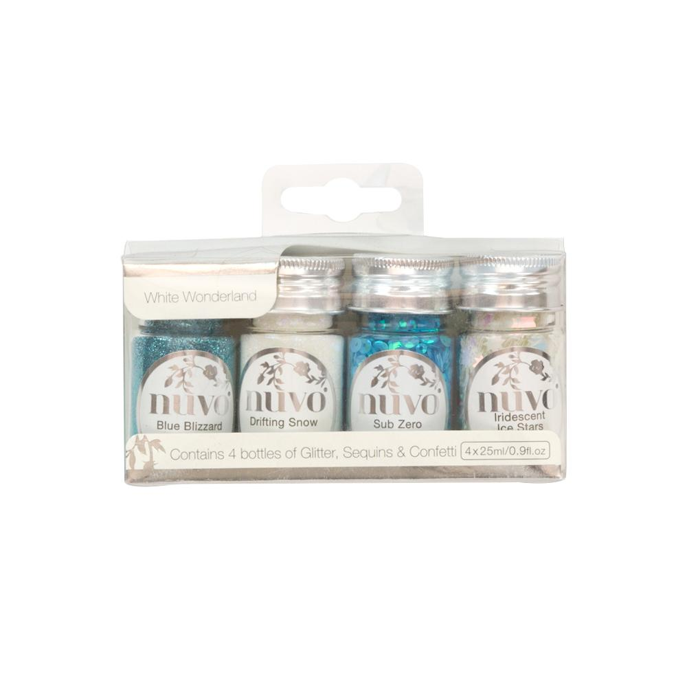 Nuvo - Pure Sheen 4 Pack - White Wonderland - 308n