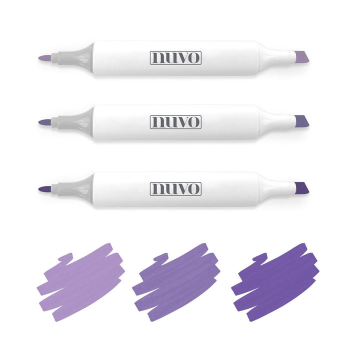 Nuvo - Alcohol Marker Pen Collection - Royal Purples - 315n