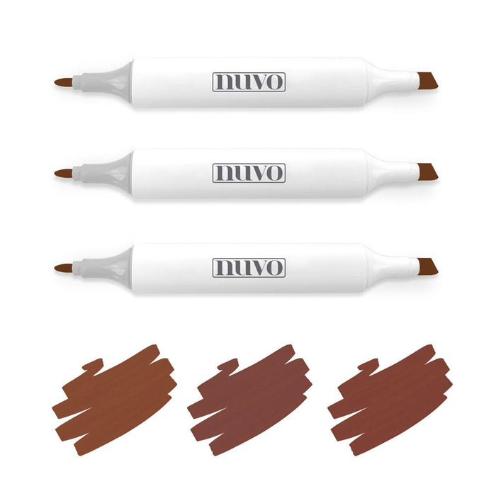 Nuvo - Alcohol Marker Pen Collection - Natural Browns - 317n - tonicstudios