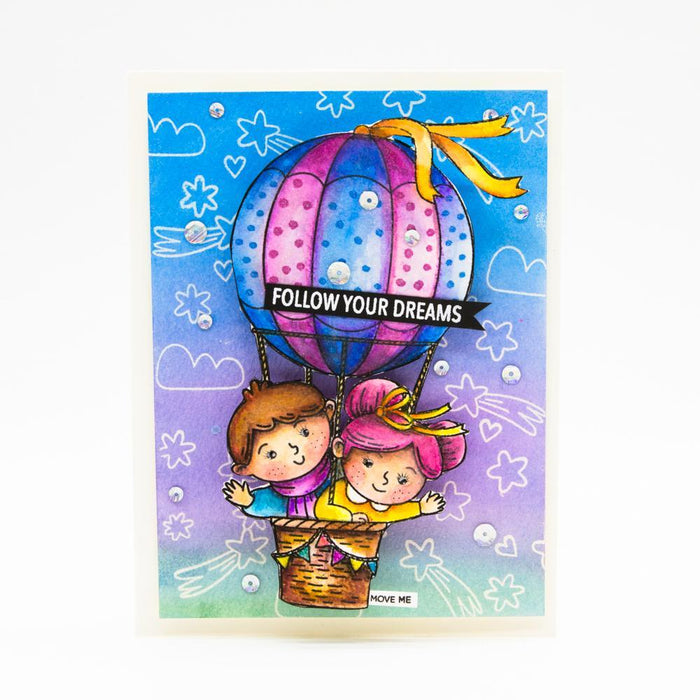 Tonic Studios - Spring Dreams Stamp Release - Complete Collection - 301B