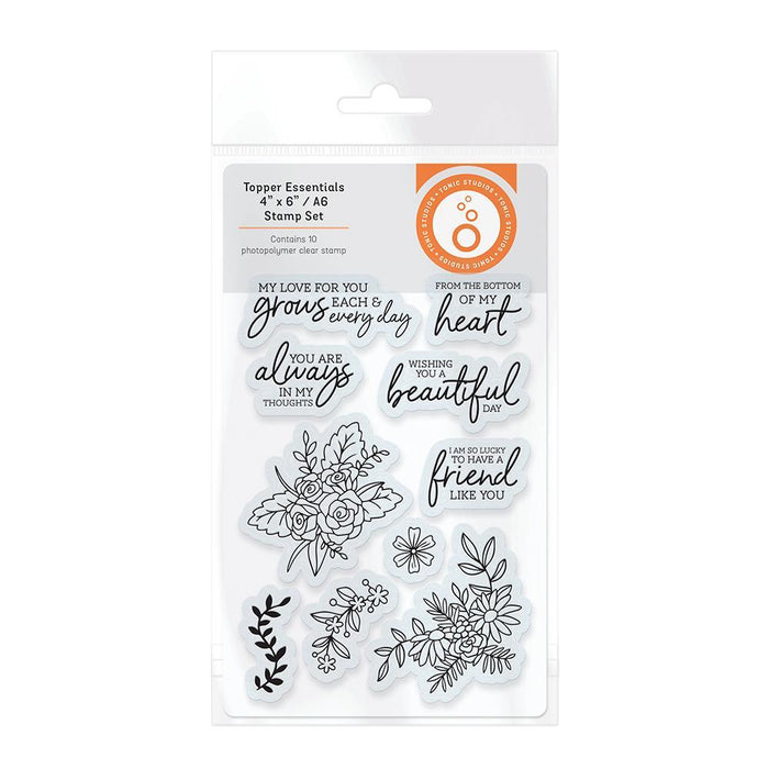 Tonic Studios - Topper Essentials Stamp Set - 3256E