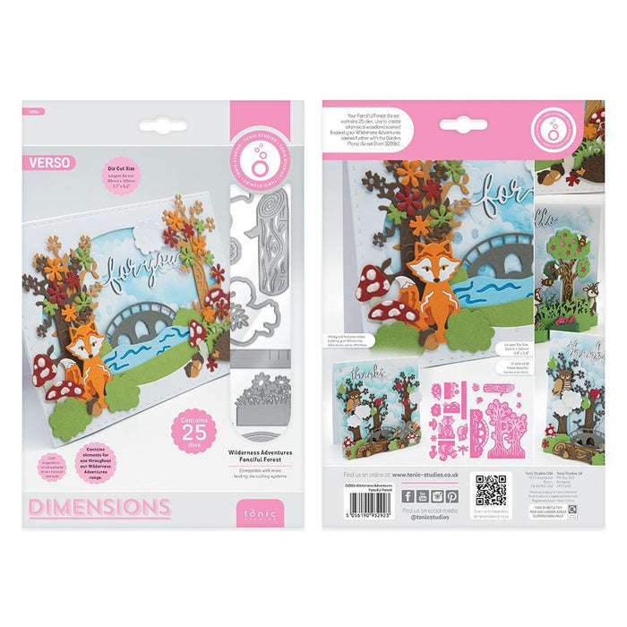Tonic Studios - Wilderness Adventures Fanciful Forest - 3292E
