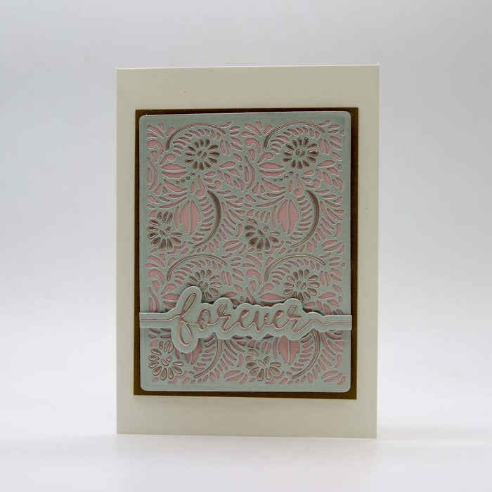 Tonic Studios - Patterned Panel - Woodland Wildflowers - 3339E