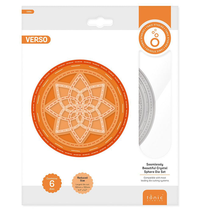 Tonic Studios - Seamlessly Beautiful - Crystal Sphere Die Set - 3389e