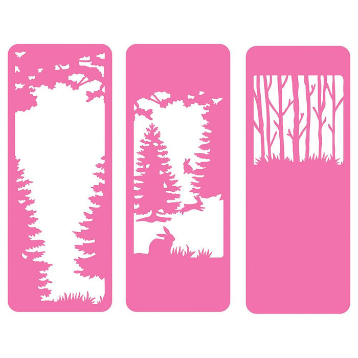 Tonic Studios - Enchanted Forest Silhouette Die Set - 3429E
