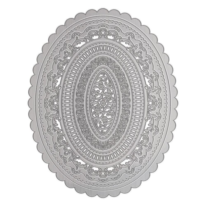 Tonic Studios - Decorative Oval Layering Die Set - 3467E