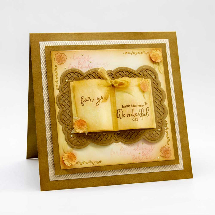 Tonic Studios - Layering Frame Collective Sentiment Stamp Set - WED260