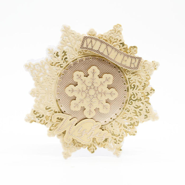 Tonic Studios - Decorative Snowflake Die Set - 3634E