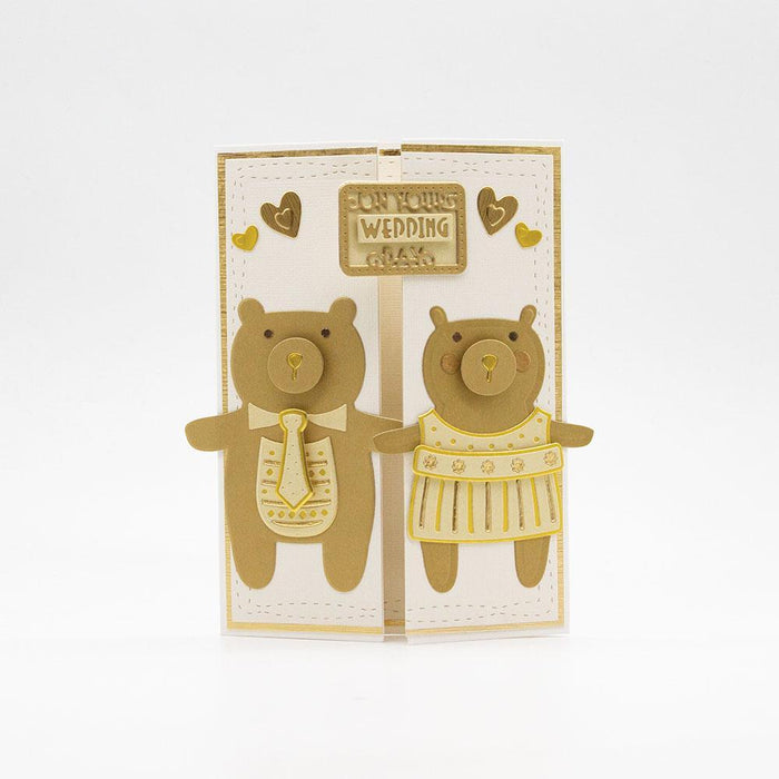 Tonic Studios - Bear & Bunny Die Set Collection - 242B