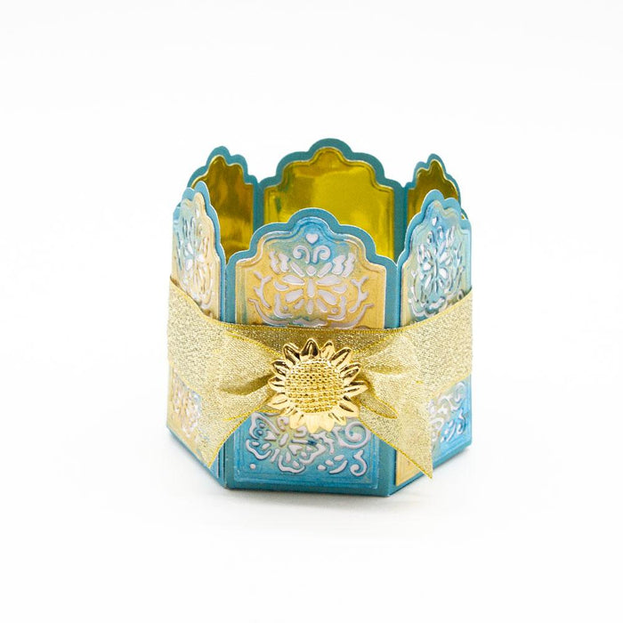 Designer's Choice 16 - Vibrant Votive Holder Die Set - 3643E