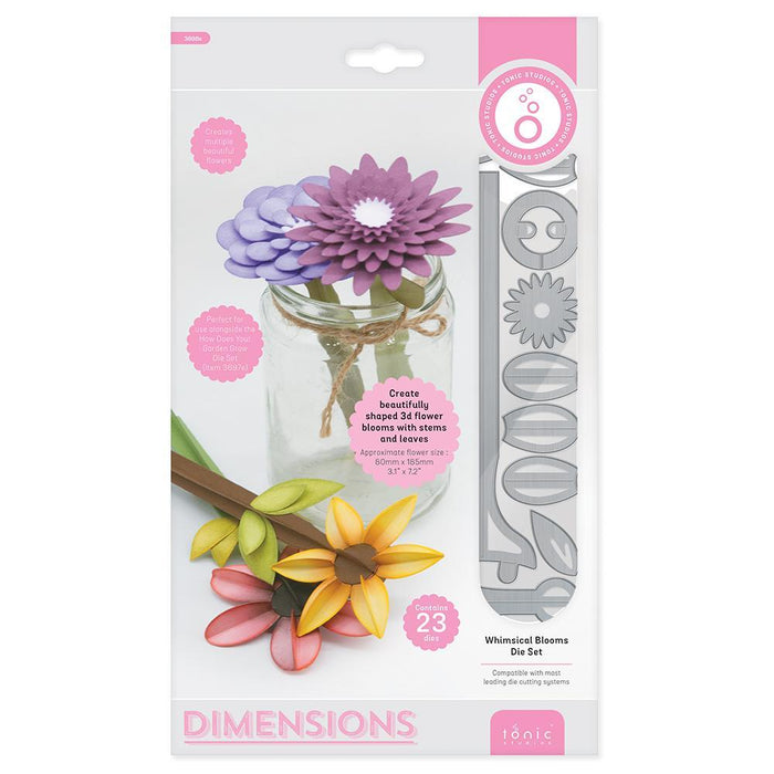 Tonic Studios - Whimsical Blooms Die Set - 3698E