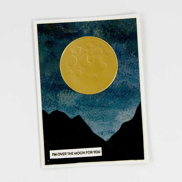 Stamp Club - Shoot For The Moon - Stamp & Die Set - SC04