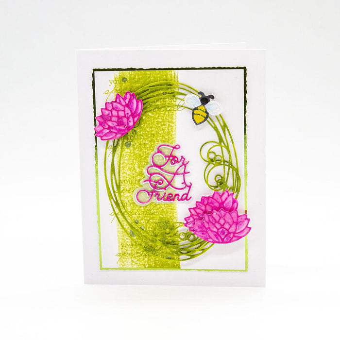 Tonic Studios - Floral Scribble Frame Collection - 264B