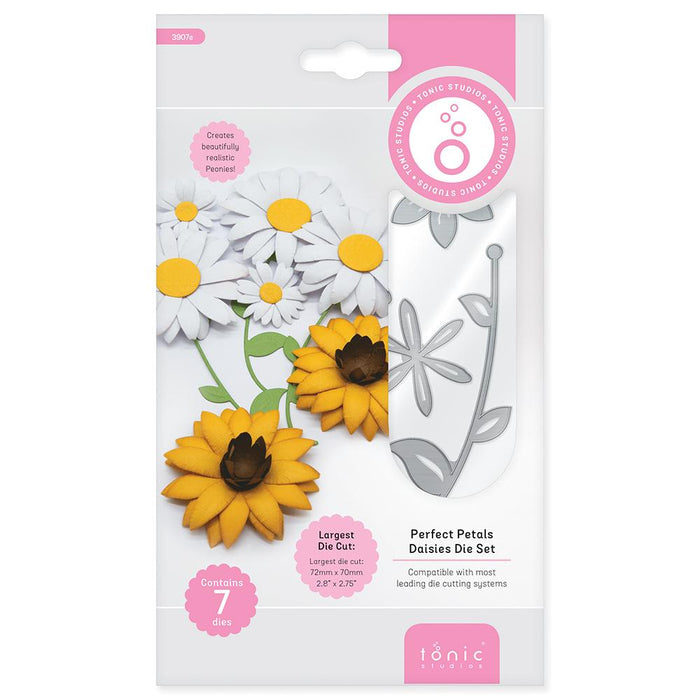 Tonic Studios - Perfect Petals Die Set Collection - Plus 4 FREE Nuvo Drops - 270BB