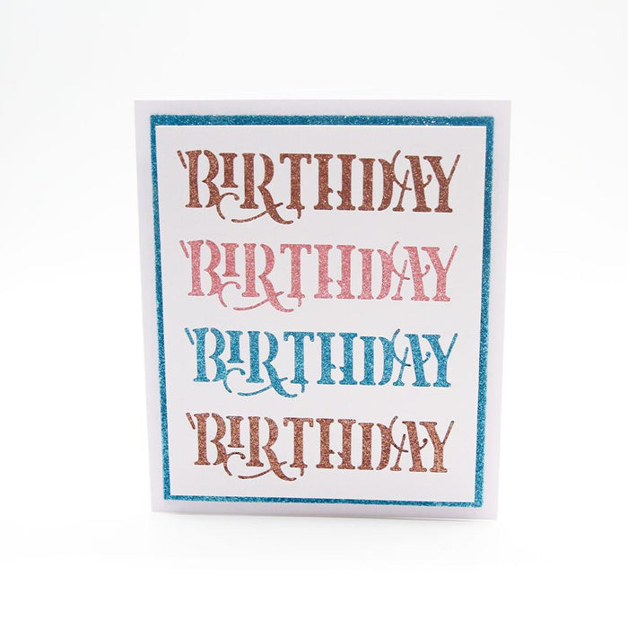 Tonic Studios - Happy Day Header Fold Die Set - 3933E